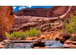 84058,地球,峡谷,峡谷,河,水,壁纸图片