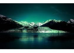 84095,地球,山,山脉,雪,水,壁纸图片