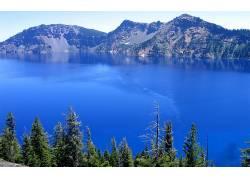 84513,地球,湖,湖,水,山,壁纸