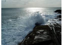 75975,地球,波浪,壁纸