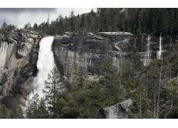 117804,地球,瀑布,瀑布,壁纸图片