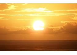 84743,地球,日落,太阳,水,云,壁纸图片
