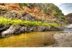 79191,地球,岩石,shonline,潮汐,泳池,水,沙,壁纸图片