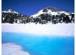 76862,地球,冬天的,雪,冰,壁纸图片