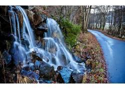 118397,地球,瀑布,瀑布,壁纸图片