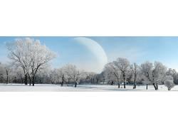 22581,地球,A,轻柔的,世界,行星,风景,冬天的,雪,壁纸图片