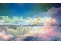 118739,地球,A,轻柔的,世界,蜡笔,壁纸图片