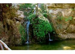 86662,地球,瀑布,瀑布,壁纸图片