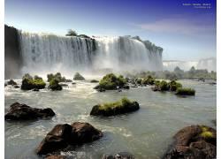 78944,地球,Iguazu,瀑布,瀑布,壁纸