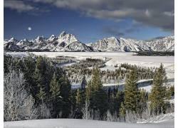 86947,地球,冬天的,山,壁纸图片