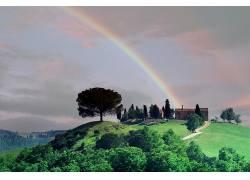 121111,地球,彩虹,壁纸图片