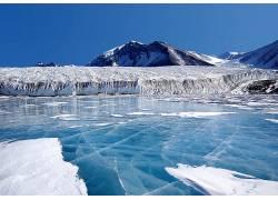 27169,地球,冬天的,山,冰,北极的,壁纸图片