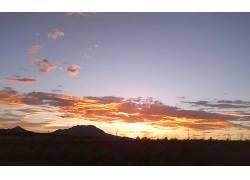 121388,地球,日落,天空,沙漠,壁纸图片