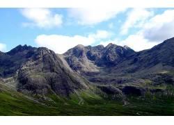 80419,地球,山,山脉,摄影,风景,草地,天空,云,壁纸图片