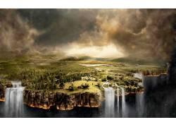 87576,地球,风景,壁纸图片