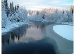 87597,地球,冬天的,风景,壁纸图片