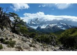 121652,地球,山,山脉,壁纸图片