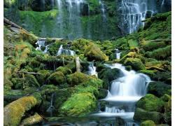 37861,地球,瀑布,瀑布,壁纸