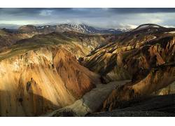 38622,地球,山,山脉,壁纸