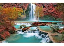 70517,地球,瀑布,瀑布,壁纸图片