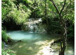 122479,地球,瀑布,瀑布,壁纸图片