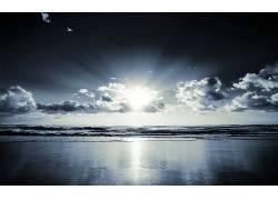 71210,地球,海滩,风景,地平线,海洋,海岸线,壁纸