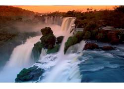 114377,地球,Iguazu,瀑布,瀑布,壁纸