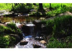 110999,地球,溪流,壁纸图片