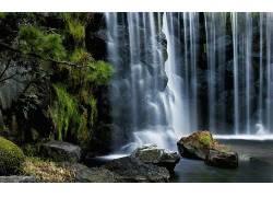 111195,地球,瀑布,瀑布,壁纸图片