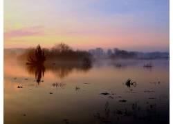 112078,地球,雾,壁纸图片