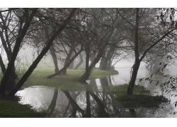 111226,地球,雾,壁纸图片