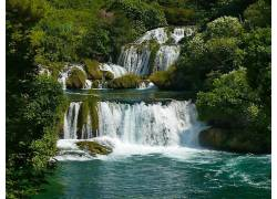 111231,地球,瀑布,瀑布,壁纸图片