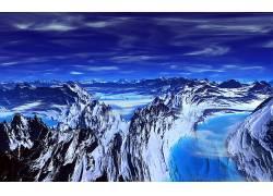115401,地球,山,山脉,壁纸图片