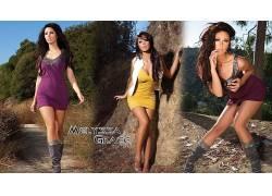 人,Melyssa Grace,黑发,魅力,模特,美女,曲线玲珑,大学,大胸部,户