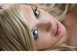 人,艾玛梅,明星,面对,看着观众,美女,金发,模特25582