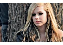 人,艾薇儿,歌手,名人,看着观众,美女,金发,长发27123