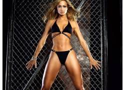 人,Stacy Keibler,比基尼泳装,ABS,美女,模特,金发582