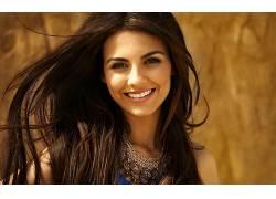人,Victoria Justice,美女,黑发,微笑,模特65589