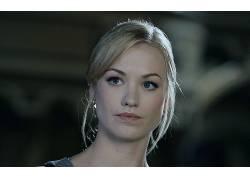 人,Yvonne Strahovski,美女,模特,金发,蓝眼睛30783
