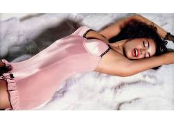 人,阿德里安娜利马,模特,腋下,美女,黑发,喷刷,闭着眼睛58809