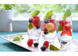 798803,食物,喝酒,玻璃,仍然,生活,水果,浆果,壁纸