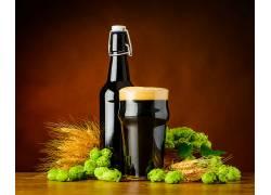 837579,食物,啤酒,玻璃,仍然,生活,跳舞,喝酒,酒精,麦芽,瓶子,壁