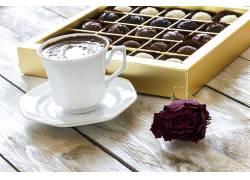 808785,食物,咖啡,杯子,巧克力,壁纸