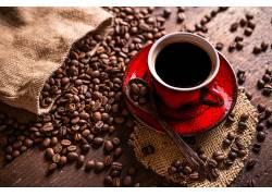 868943,食物,咖啡,咖啡,豆子,杯子,仍然,生活,壁纸