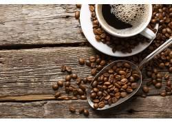 870597,食物,咖啡,咖啡,豆子,杯子,仍然,生活,壁纸