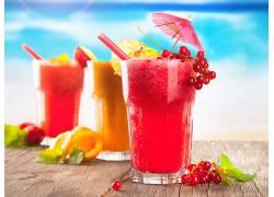 781433,食物,鸡尾酒,喝酒,玻璃,水果,夏天,壁纸