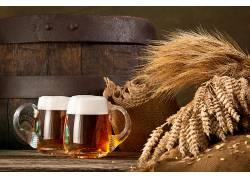 851641,食物,啤酒,玻璃,喝酒,酒精,仍然,生活,壁纸