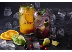 851824,食物,喝酒,玻璃,冰,立方,水果,仍然,生活,壁纸