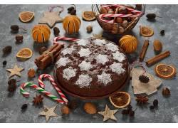 892959,食物,蛋糕,面粉糕饼,仍然,生活,肉桂色,糖果,手杖,壁纸