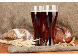 819617,食物,啤酒,玻璃,酒精,面包,仍然,生活,壁纸
